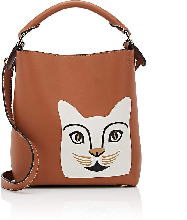57fb38a90d4 LOEWE Women's Cat Small Leather Bucket Bag | For my mama .. her love ...