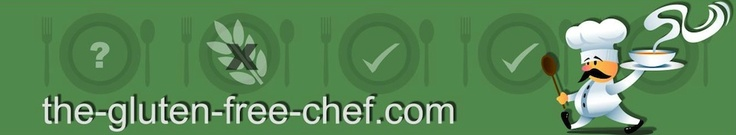 The Gluten Free Chef.  A great resource for what you can and cannot eat on a gluten-free diet.  Also includes some resources about gluten-free items at restaurants if you're considering delivering takeout to someone.