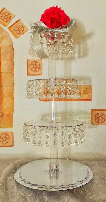 Sale Cupcake Tower 4 tiers. Cupcake stand. by FashionProposals, $59.00