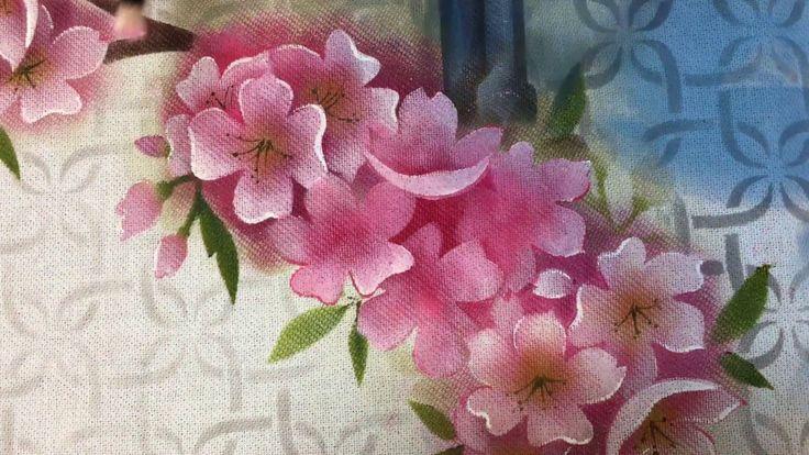 Como pintar cerejeiras ( Sakura) - YouTube