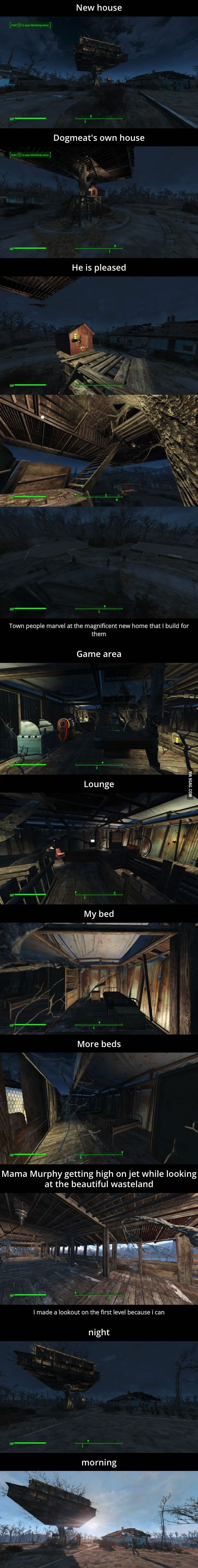 Fallout 4 Base building is fun