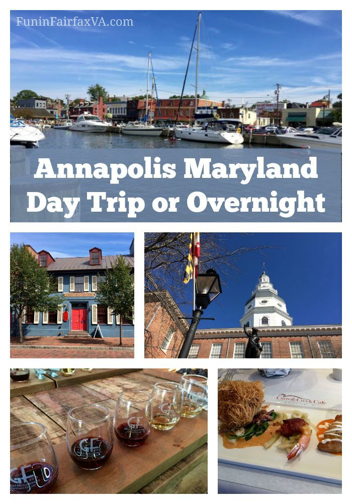 An Annapolis Maryland day trip or overnight delivers interesting history, delicious food, quaint shops, and plenty of ways to get out on the water.