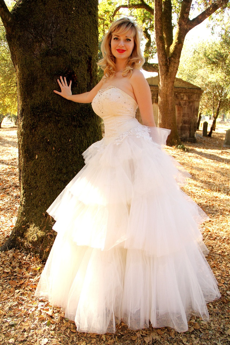 Affordable Vintage S Tulle And Lace Strapless Fairy Tale Princess Wedding Gown With Rhinestones Dress Up Gamesdress Gamesdisney Disney