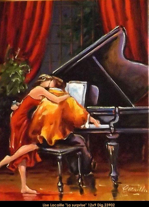 Lise Lacaille original oil painting