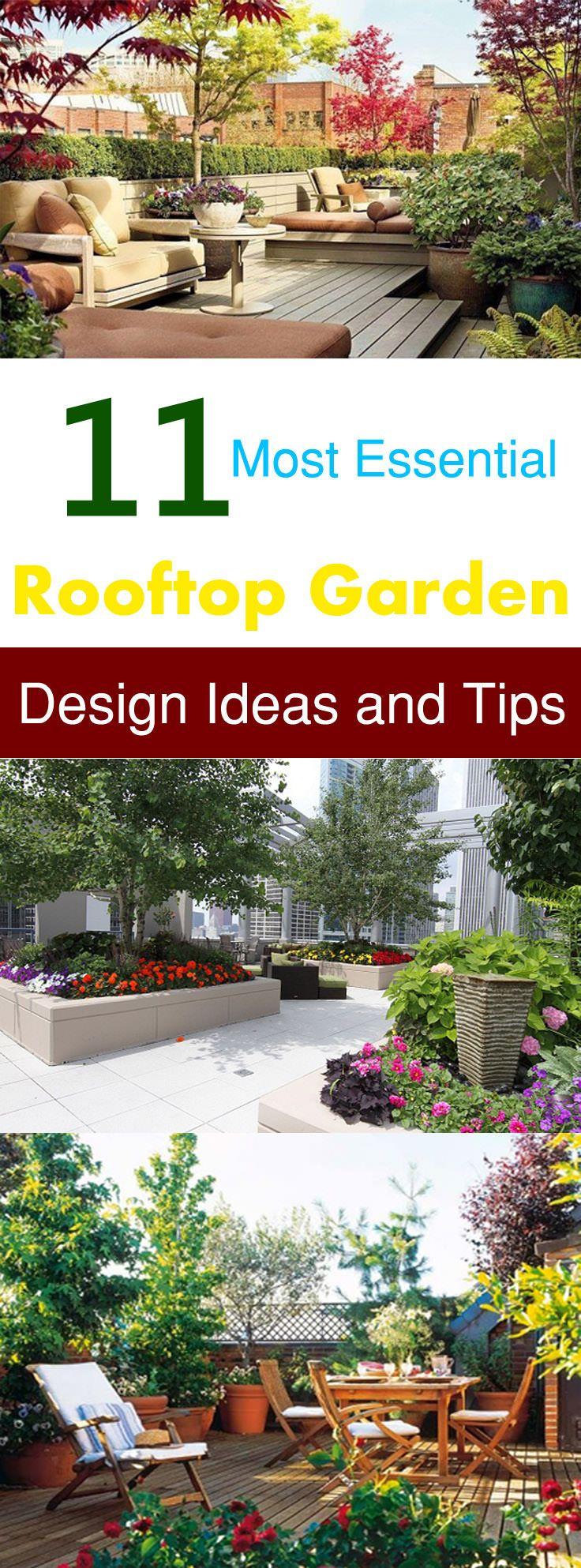 17 Best ideas about Rooftop Gardens on Pinterest | Small terrace, Terrace garden and Terrace
