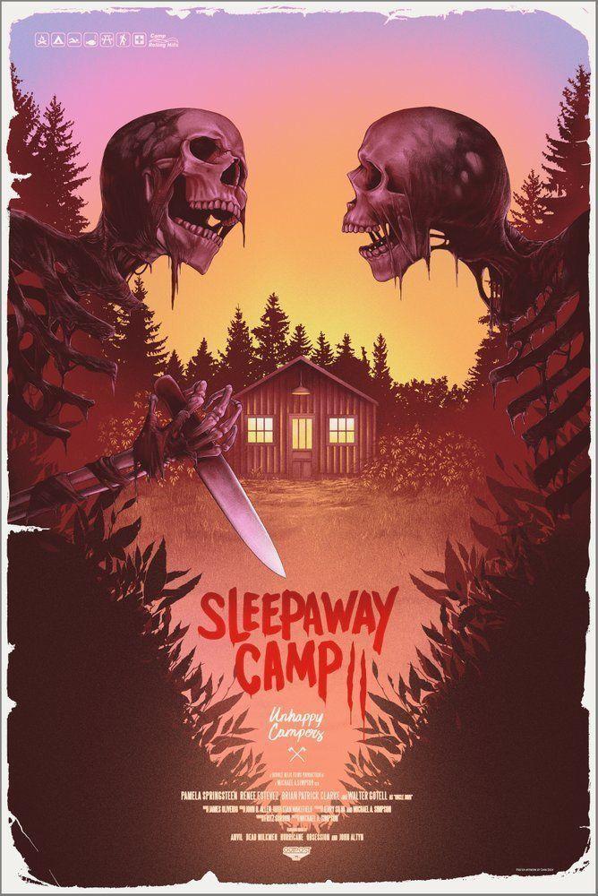 Nightmare On Film Street Horror Movie Podcast Horror Movie News Horror Reviews And More Horror Movie Icons Horror Posters Sleepaway Camp