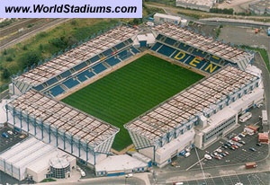 The New Den, Millwall FC. capacity 20,146 always had a good day out at the Den!!