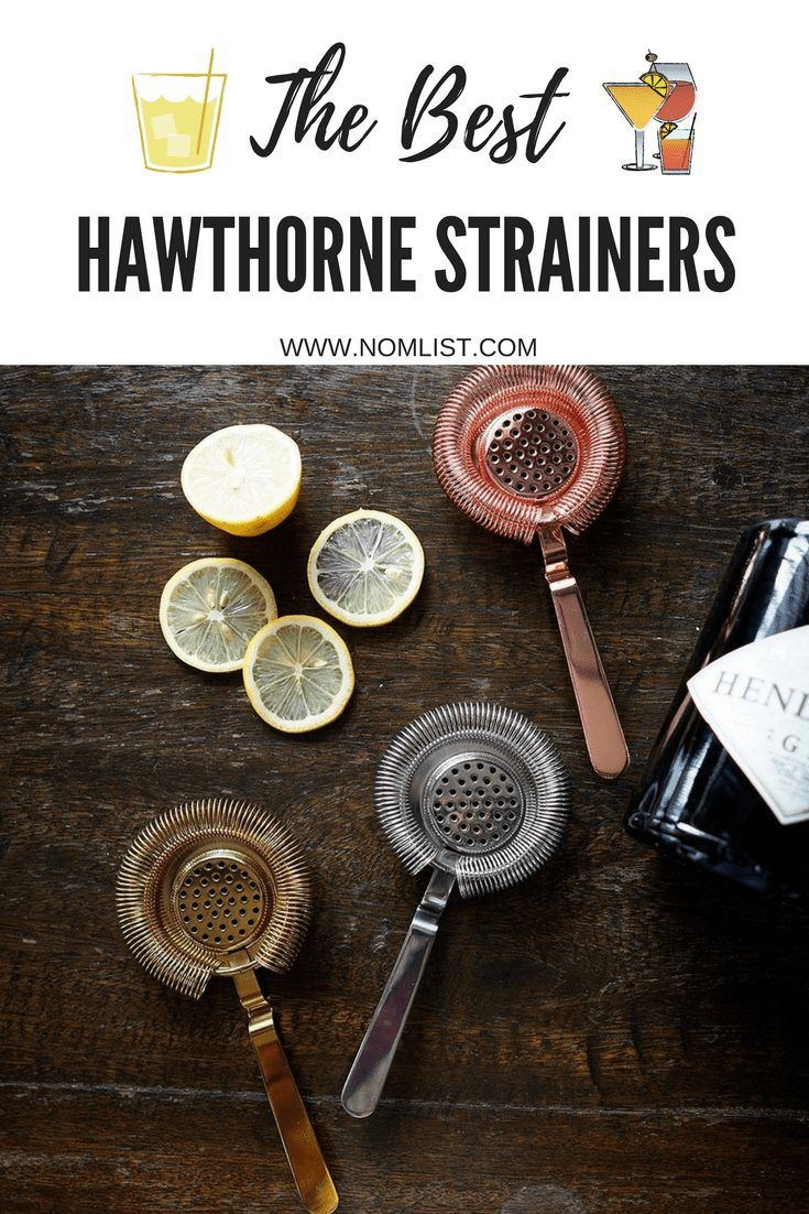 10 Best Hawthorne Strainers For Delicious Cocktails Italian