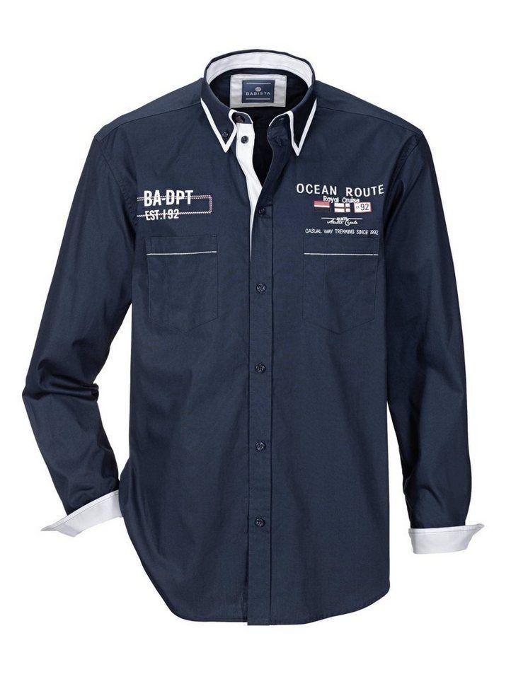 Babista Hemd mit Doppelkragen, Reine Baumwolle online kaufen