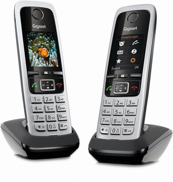 Schnurloses Dect Mobilteil C430hx Duo Inkl Ladeschale Gigaset Telefon Und Schnur