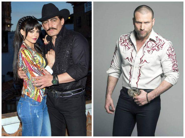 os actores Livia Brito (izq.) y José Manuel Figueroa (der.) dan vida a Maribel Guardia y Joan Sebastian. En la otra imagen Rafael Amaya como 'El Señor de los Cielos'.