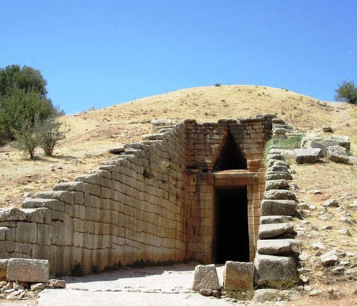 Image Gallery mycenaean tombs