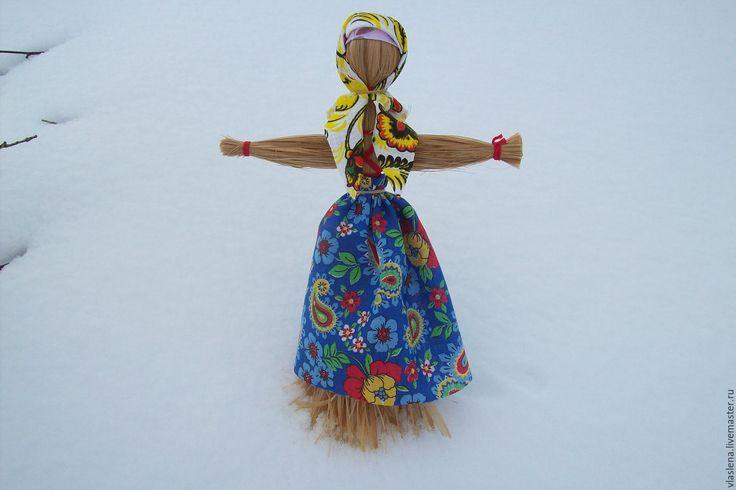 Купить Чучело на Масленицу - чучело масленицы, кукла масленица, народная кукла, народные традиции