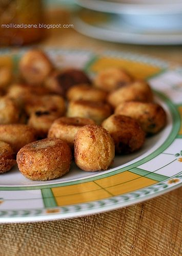 polpettine di patate e pane