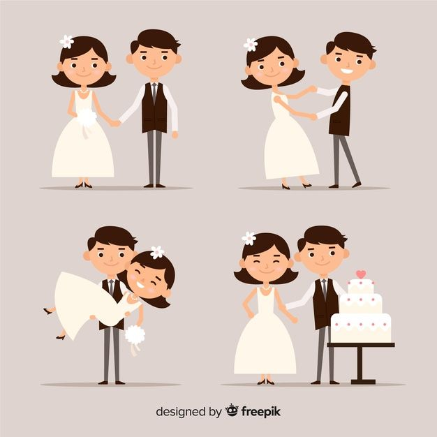 Download Wedding Couple Collection For Free Wedding Couples Wedding Invitation Card Template Wedding Invitations