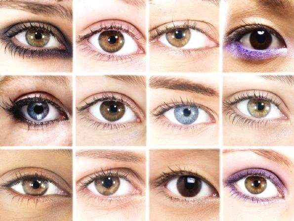 different eye colors | Hair Color Shades,Brown Hair color shades: shades for brown eye color