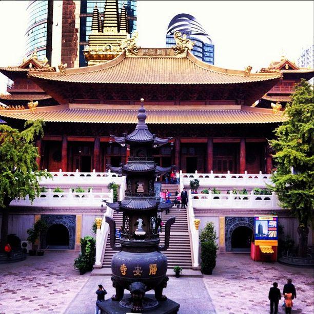 #静安寺 #上海市 #Jing'an #Temple #Shanghai
