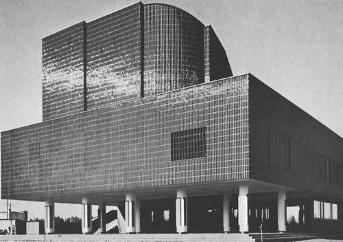 ALVAR ALTO CITY HALL OF SEINÄJOKI, 1963-65
