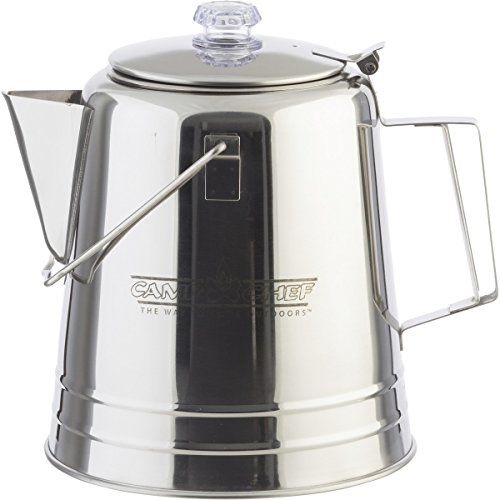 Camp Chef Stainless Steel Coffee Pot ** CONTINUE @ http://www.buyoutdoorgadgets.com/camp-chef-stainless-steel-coffee-pot/?b=0762