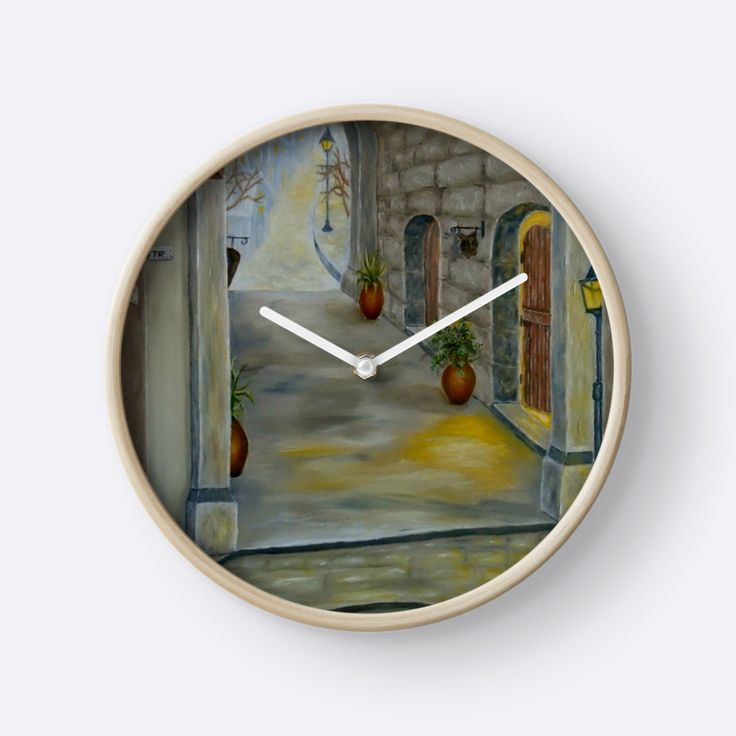 Medieval Theme, Wall Clock