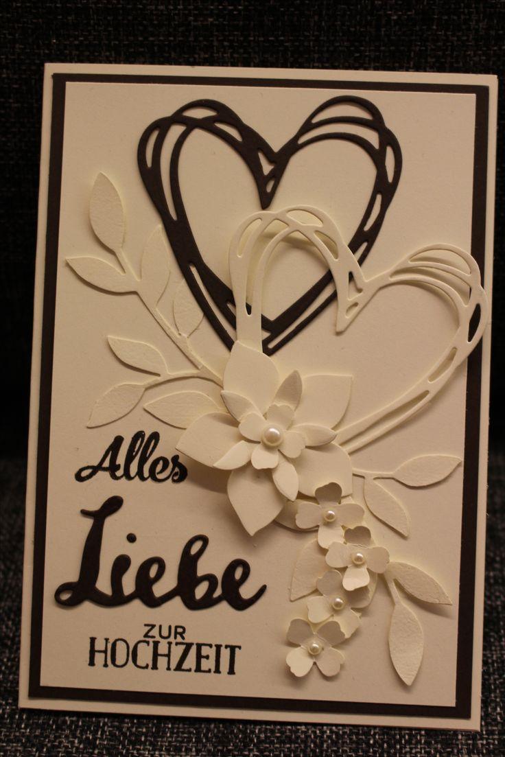 Hochzeitskarte, Grüße voller Sonnenschein, Flower Flair, Grußelemente, Stampin up