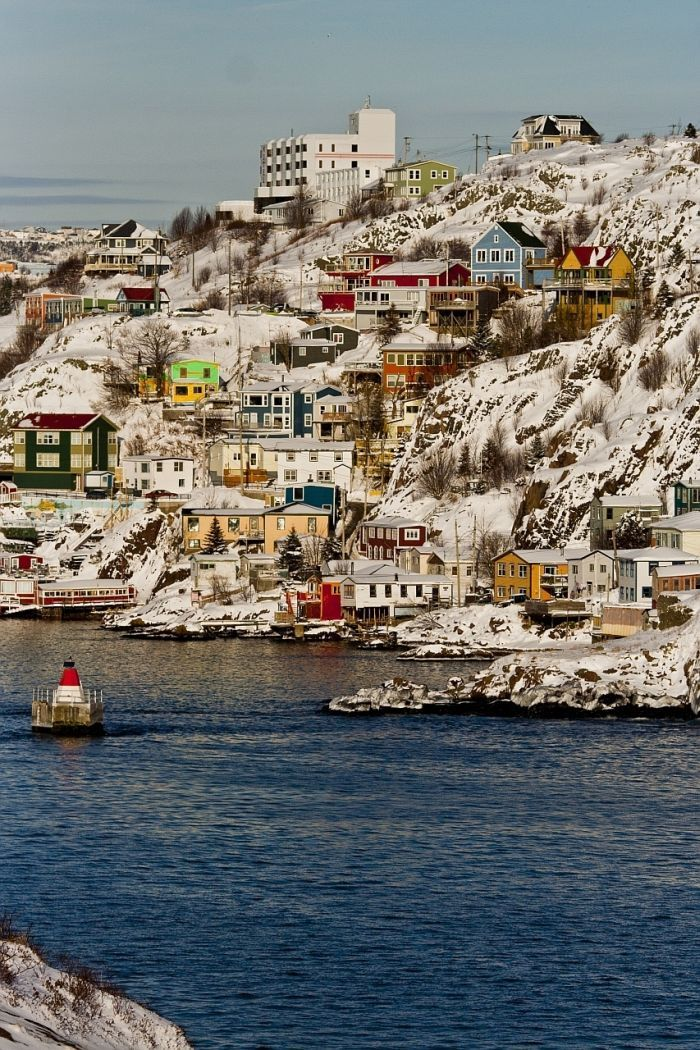 St. John's, Newfoundland, Canada. Trying to convince my Husband a trip to Canada will be fun!