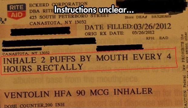 Instructions unclear.... | Nurse Shizzle | Pinterest