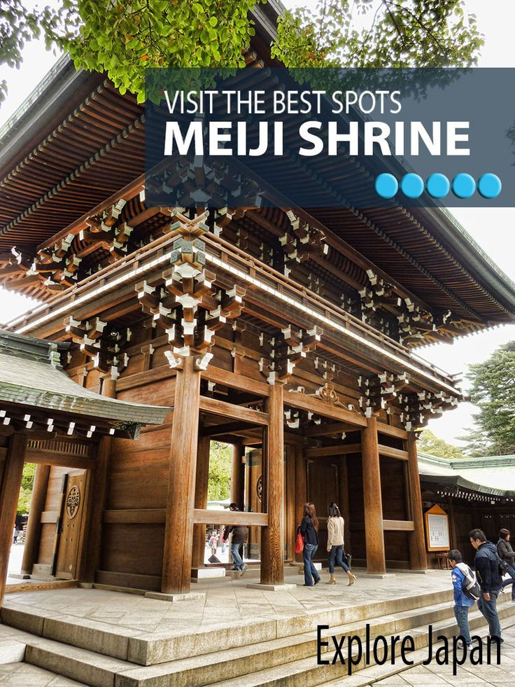 Planning a visit to Meiji Shrine in Tokyo - Here's what you need to know.