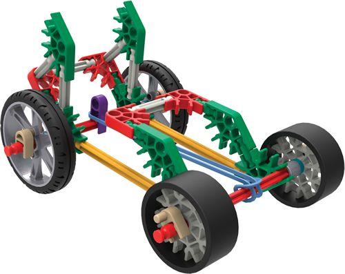 K'NEX Small rubber band racer