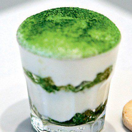 Recette de Tiramisu au thé vert Matcha