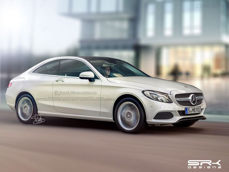 2016 #Mercedes C #Class #Coupe – #IAB #Rendering -