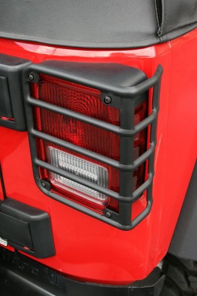 Rugged Ridge Euro Guard Rear Light Guards in Black for 07-09 Jeep Wrangler & Wrangler Unlimited JK $42