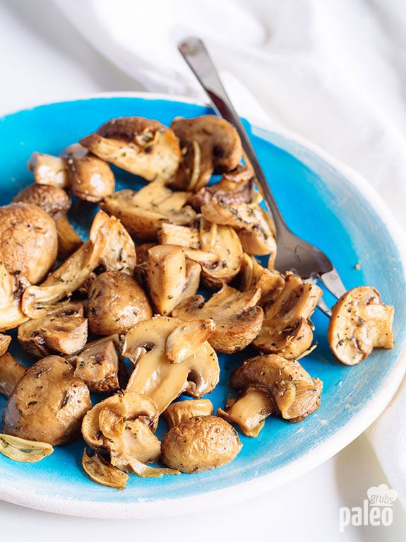 These are the best mushrooms I have ever had! If you thought butter sautéed mushrooms were good, these will blow you away! You will never want to cook mushrooms any other way again.