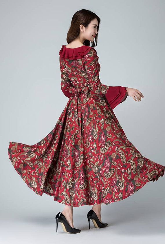 Prom dress garden dress party dress maxi dress flower