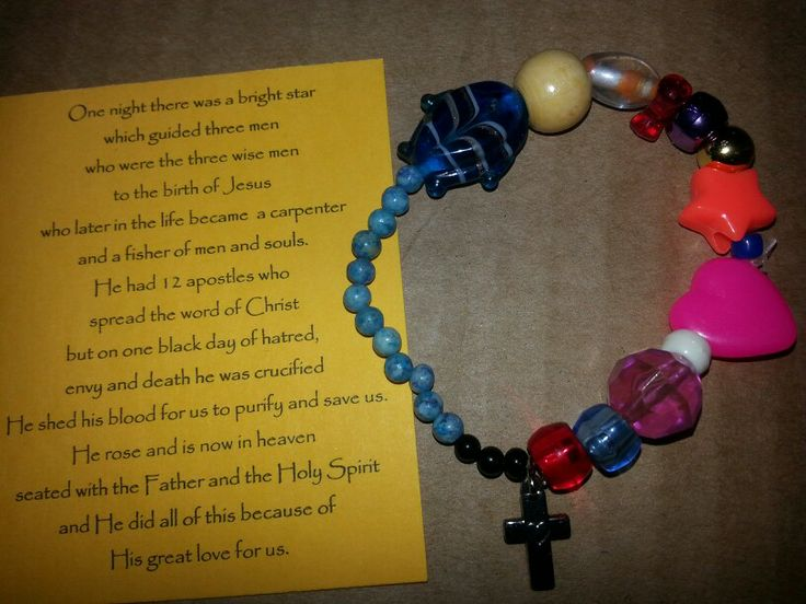 110 best resurrection of jesus images on pinterest school bible life of christ bracelet christmas or easter gift for sunday school kids children class negle Images