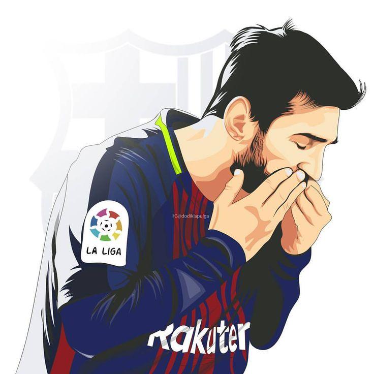 """287 Likes, 6 Comments - Dodik La Pulga (@dodiklapulga) on Instagram: """"#Messi #Messi #Messi #vectorart"""""""