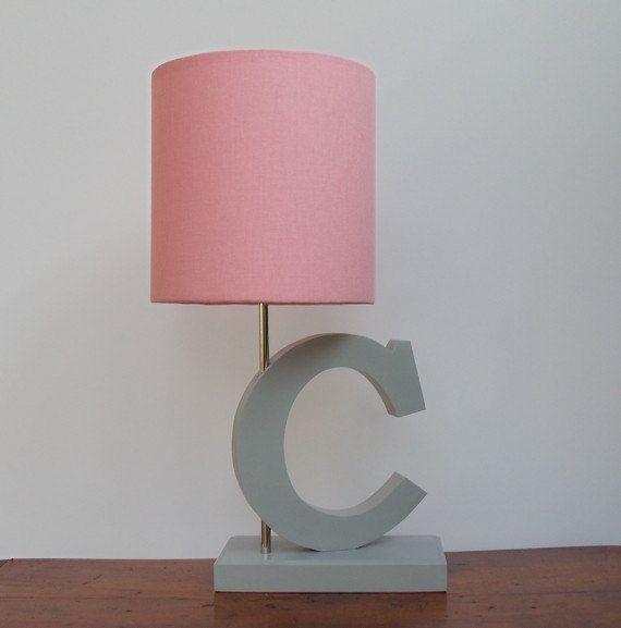 Small Pink Drum Lamp Shade - Nursery or Girl's Lamp Shade