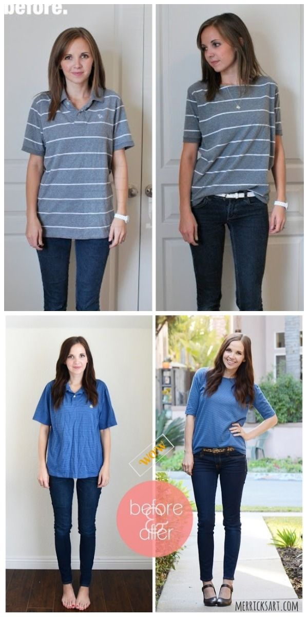 Chic T Shirt Refashion Ideas With Diy