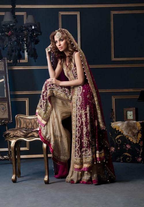 Pakistani Bridal Couture!!