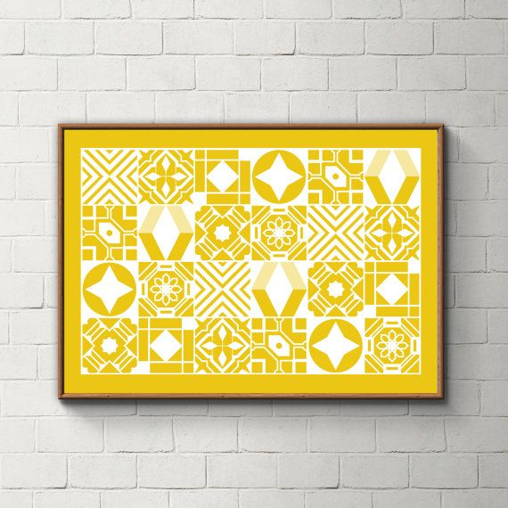 033_PrintAzulejos, Azulejos, Poster, Wall, Printable, Portugal, Pattern, Tiles, Photography, Instant download