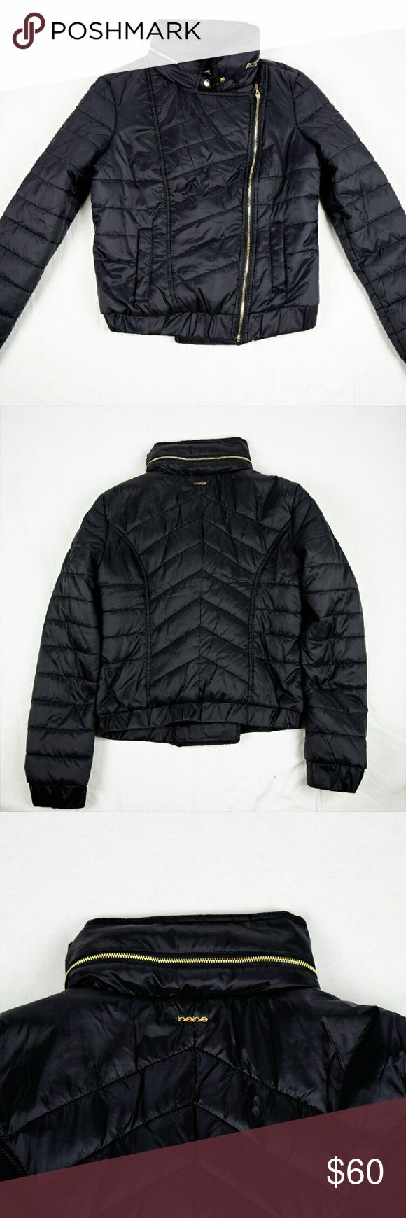 Bebe Moto puffer Jacket Brand new with Tag and authentic bebe Jacket.superlightweight,warm and comfy bebe Jackets & Coats