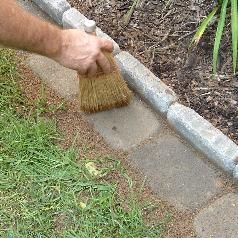 Edging a Flower Bed With Cement Pavers - InfoBarrel