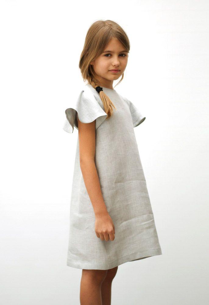 MOTORETA SS15 Polis grey linen Dress #lookbook #motoreta