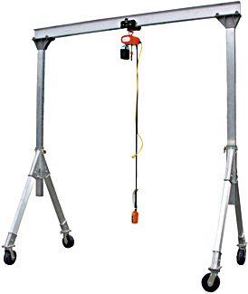 Vestil AHA-2-10-10 Aluminum Gantry Crane * $2,421.00 - $2,676.00