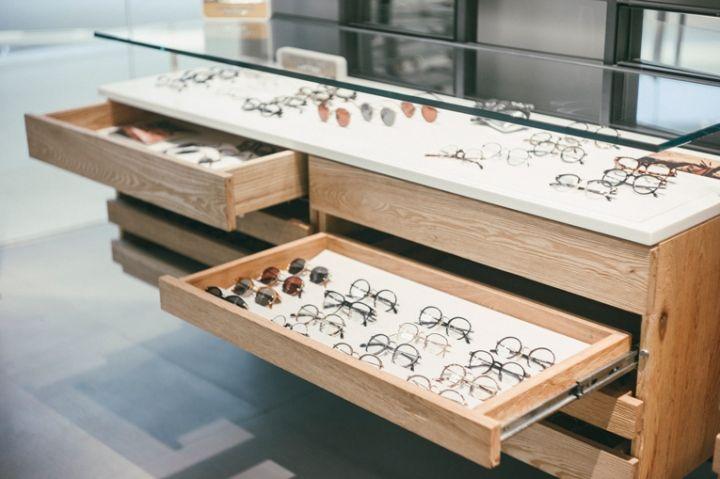 Niche Nation eyewear store, Bangkok   Thailand eyewear store design