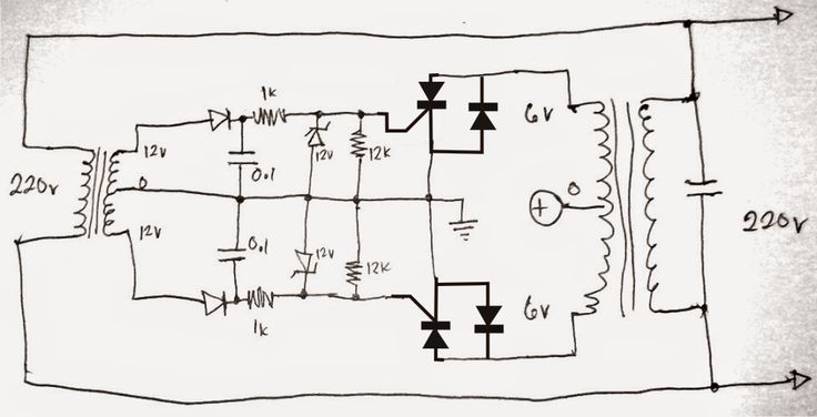 Simplest Grid-tie Inverter (GTI) Circuit Using SCR
