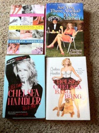 Chelsea Handler books.
