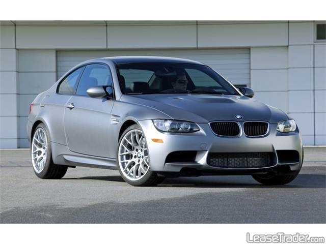 BMW M3 Coupe Lease $781 per month