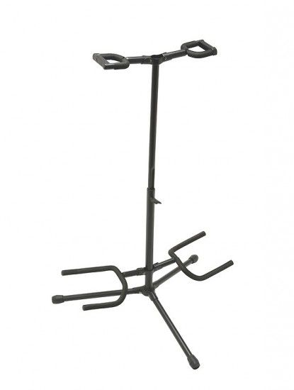Stand Guitare Double - On Stage GS7221BD Noir