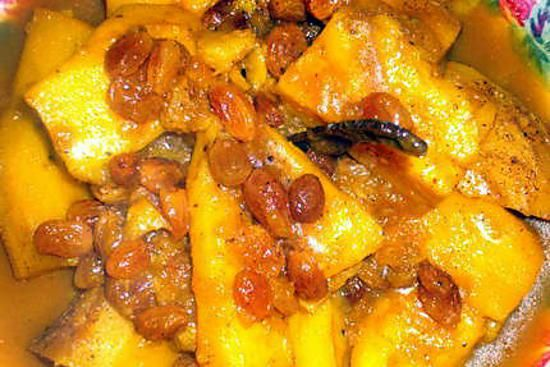 recette patate douce a la marocaine... de ma belle mère...